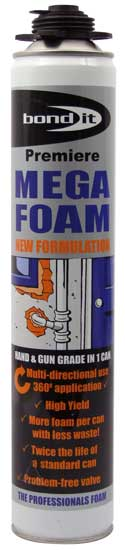 MEGA FOAM BEIGE 500ML 003.52.114