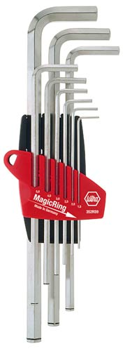 9 PCE HEX KEY SET W MAGIC RING 008.28.409