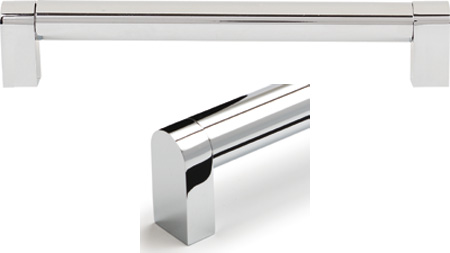 BAR HNDL POL CHROME 192X204X42MM 108.94.294