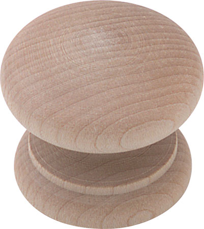 KNOB 49MMDIA UNFINISHED MAPLE 195.77.103