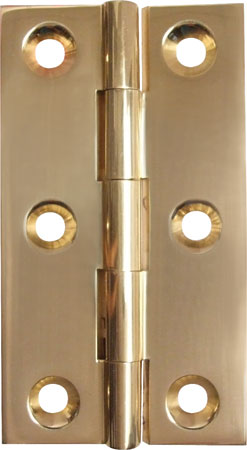 EXTRUDED HINGE BRASS 75X42MM 354.19.030