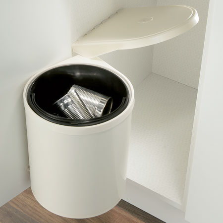 SWING-OUT WASTE BIN 10LTR CREAM WHITE 502.16.700 & Hafele : M\u0026D Online Blum Hinges and Drawer Systems | Hafele