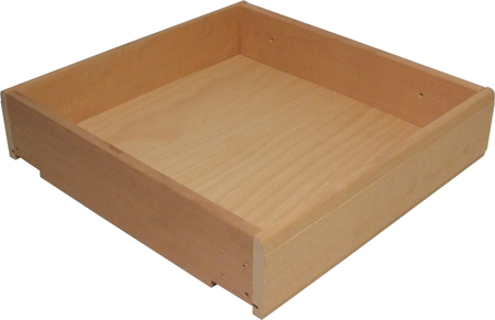 SOLID BEECH DRAWER 554X440X100MM 557.39.459
