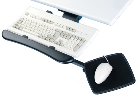 ARTICULATING KEYBOARD+ARM SET BLK 632.62.320