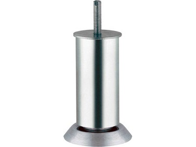 634.62.592 Matt aluminium, 180 mm with 20 mm adjustable height