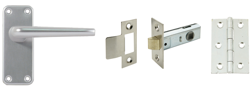 958.02.020 Latch pack, aluminium