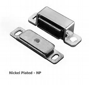 FTD840NP Magnetic catch Nickel Plated