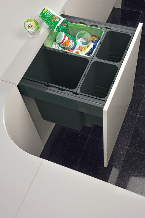 Waste Bin System, for Grass DWD and Blum Tandembox