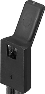 CLIP ON STOP BLACK PLASTIC PACK OF 100 237.74.920