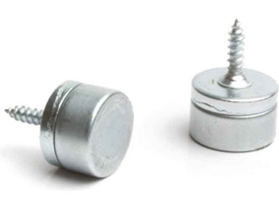 246.24.601 Elite magnetic catch, screw fixing