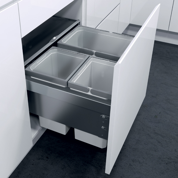 503.04.537 Oeko Liner Pull-out Waste Bin, For 600 Mm