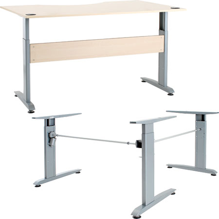 ADD LEG FOR CORNER HEIGHT ADJ DESK FRAME 630.43.990
