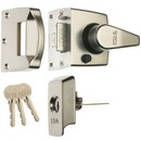 911.23.487 Keyless Nightlatch narrow Satin Chrome
