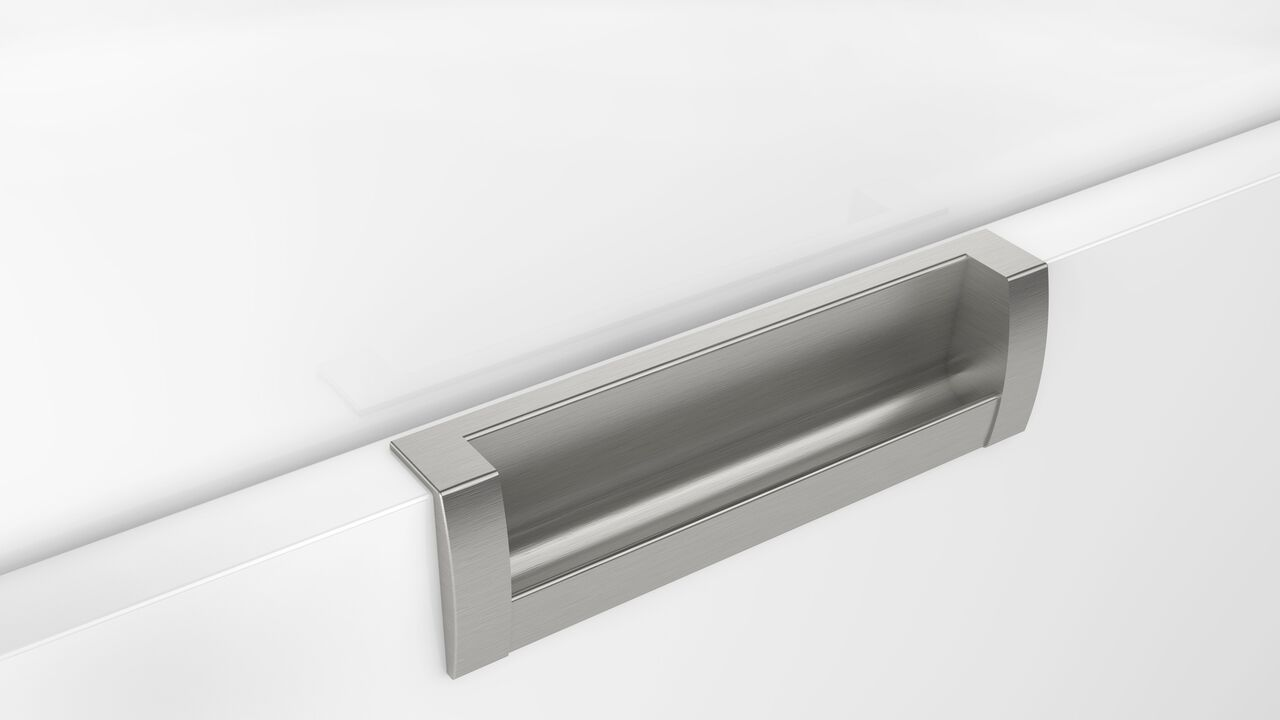 - Inset - Brushed Satin Nickel - length 135mm